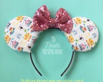 Disney Castles Mickey Ears, Princess Castles Ears, Castles Minnie Ears, Mickey Mouse Ears, Castle Mickey Ears Headband, Disney Inspired Ears