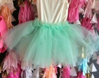 Mint Sprinkles Tutu Dress