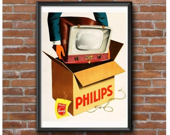 1950's Television Promo Poster