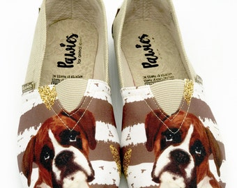 BOXER SHOES, Women shoes, Dog lovers, dog breeds