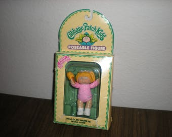 1984 Cabbage Patch Kids Poseable Figures Mara Jane 1st Edition