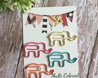 Elephant Paperclip Set