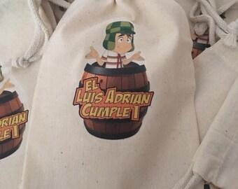 El Chavo favor bags