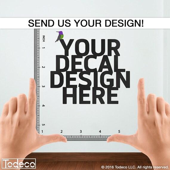 custom decal custom wall decal custom wall sticker custom