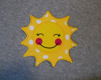 Made to order ~ You Are My Sunshine (3 sizes) iron on or sew on applique patch