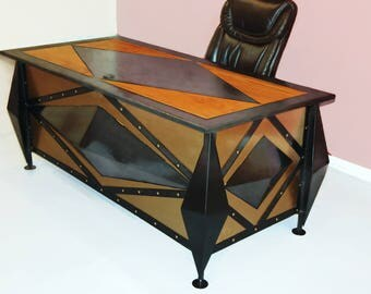 Hand Made Desk executive desk | etsy
