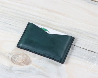 Business Card Case, Leather Card Case, Personalized Wallet, Leather Card Holder, Card Sleeve, Business Card Holder, Leather Card Wallet
