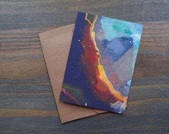 Visual Specx, Pack of 10 Greeting Card Set w/ 10 Kraft Envelopes
