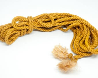 BDSM rope yellow BDSM Rope