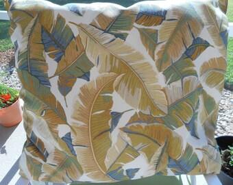 Autumn Solace Feather Throw Pillow