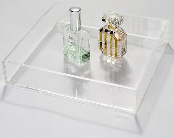 Makeup Organizer Tray | Dream Collection - Clear Acrylic Makeup Storage