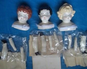 Porcelain China Doll Making Kits Sally Tudor Nell Tudor Mark Farmer FREE SHIPPING