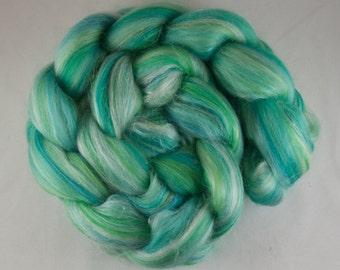 AQUA Blended Roving, Merino - Silk, 100g
