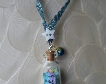 Mermaid Glitter Necklace