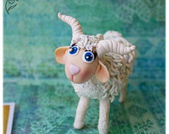 Goat Sculpture Etsy