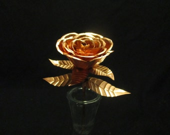 Copper sweetheart rose