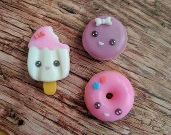 Set Soap Cute , Soap for kids, Soap Easter, Home made soap, Hand made soap, Cute soap, Soap for girl
