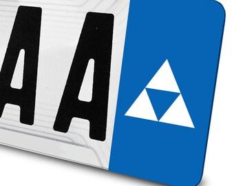 Triforce decal - Zelda - for license plates