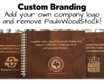 ADD your own logo and remove PaulsWoodStock logo!