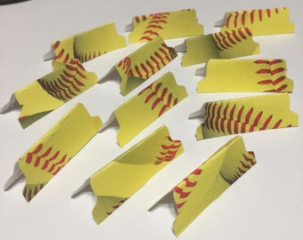 Baseball Tabs, Laminated Stickers, Guide