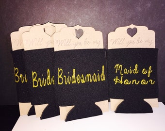 Bridesmaid Coozies