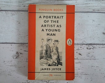 James Joyce // Portrait of the Artist as a Young Man // 1960 // First Edition Penguin Paperback // Irish Literature