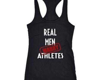 Athletes Racerback Tank Top T-Shirt. Funny Athletes Tank.