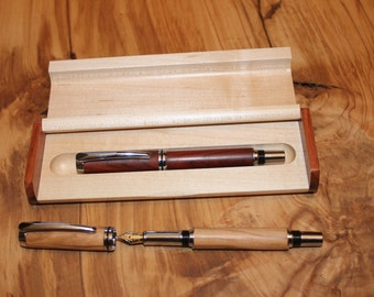Wooden Case for the Fountain Pen