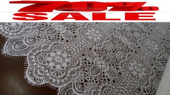 SALE 20% Wedding lace embroidery lace, lace Lingerie, lace fabric from the yard French Lace Bridal Lace