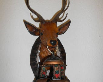 Deer head, kitsch