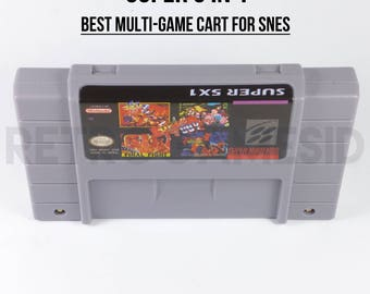 Super 5 in 1 Final Fight 1 2 3 Guy Art of Fighting SNES Multicart Game