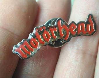 Motorhead , vintage Pins 90s , very rare .