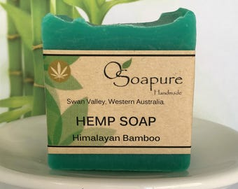Hemp Seed Oil Soap - Himalayan Bamboo | Cold Process Handmade