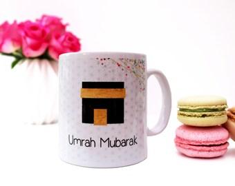 Umrah Mubarak Islamic Mug