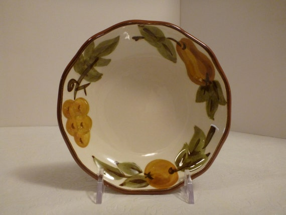 Stangl Sculptured Fruit Fruit Bowl #5179