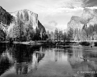 Yosemite Fine Art Photography Black and White Photo Print (Unframed, Canvas, Framed, Metal or Acrylic) Large Wall Decor