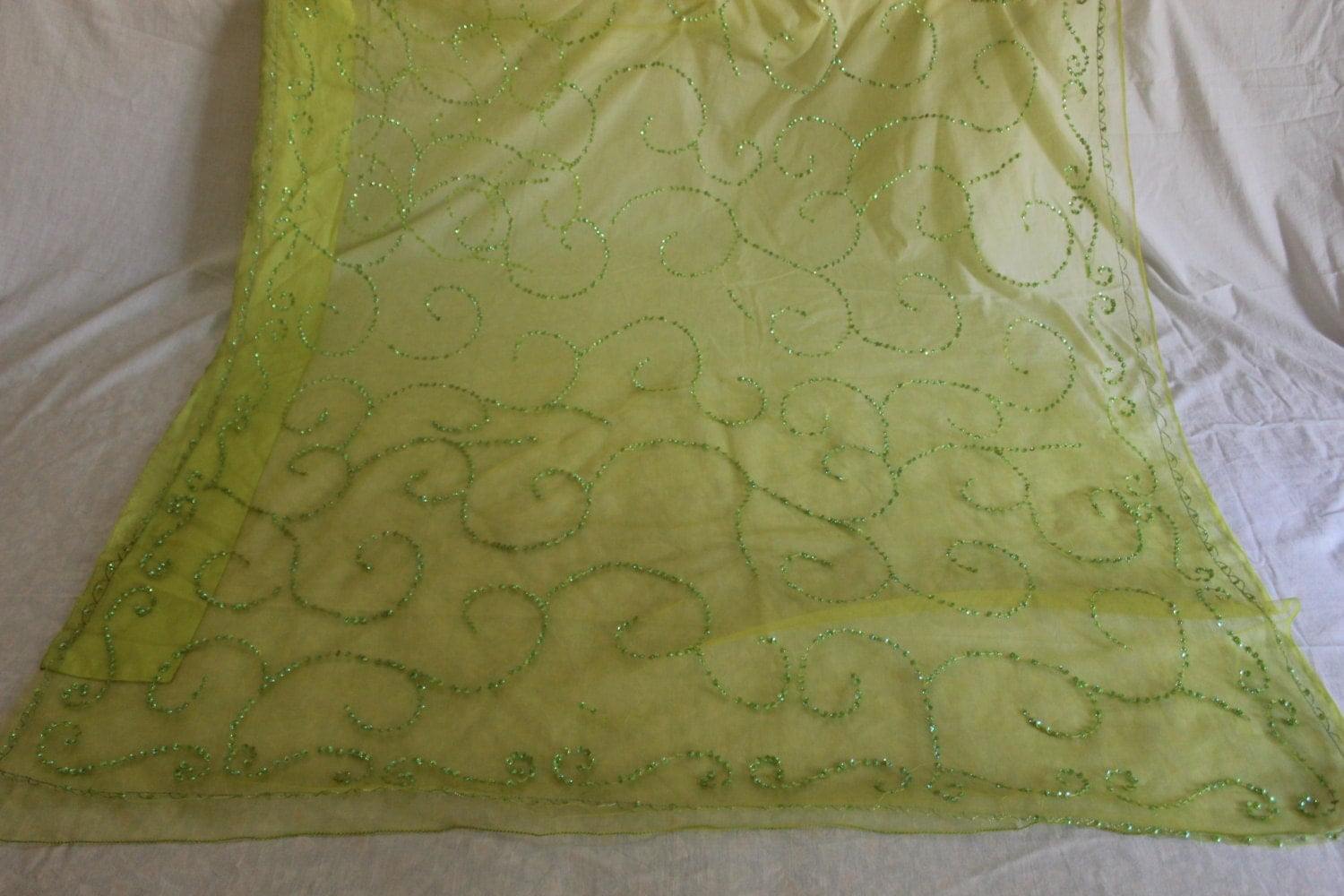 Green indian curtains - Sold By Vintagebaazarr