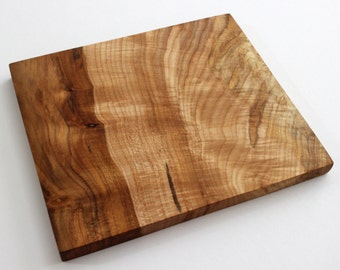 Spalted Curly Maple Cutting Board