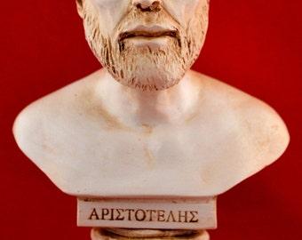 Aristoteles Bust greek statue White NEW