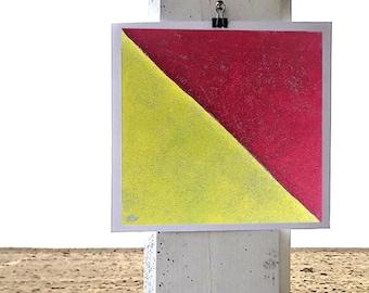 O nautical flag print
