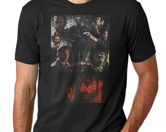 Rick Grimes The Walking Dead Quotes Collage T-shirt