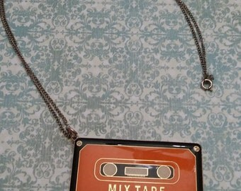 Mix Tape Necklace