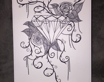 Diamond and Roses