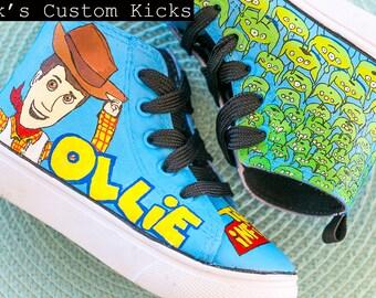 Toy Story [fanart] Custom Shoes