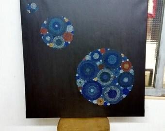 "Original Painting ""Circle Free Form N. 15"""