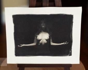 Nude Palladium Print: Vex Voir