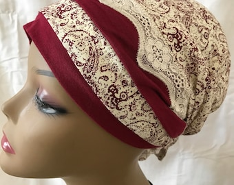Sinar tichel, hair snood, head scarf, head covering