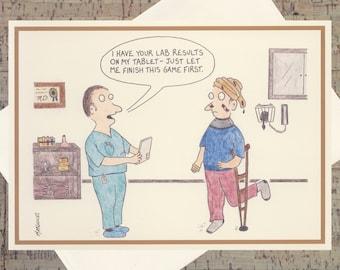Funny Graduation Card, Medical School, Doctor, Graduation, Funny Congratulations Card, Medical School Graduation, Humor Card