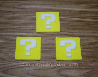 ROBLOX, Lucky Block, Video Gamer Birthday Cupcake Toppers