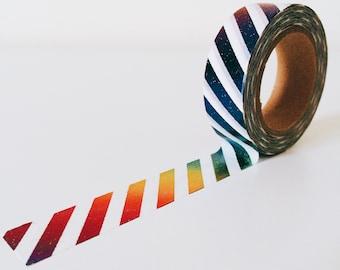 Shinny rainbow washi tape